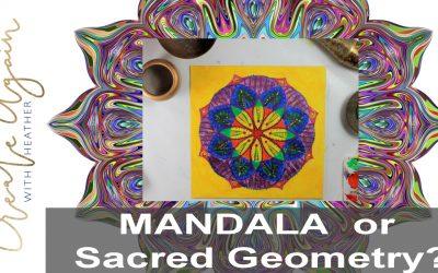 Mandala or Sacred Geometry
